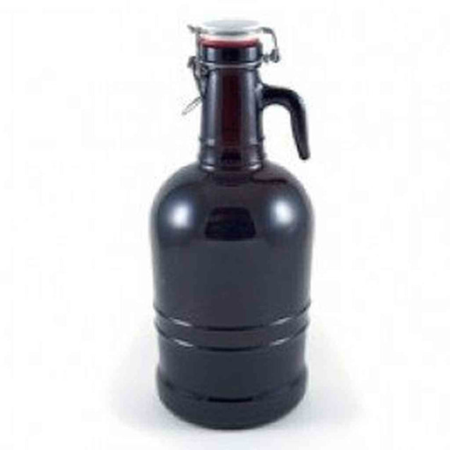 2 Liter Glass Handle Growler Growlers