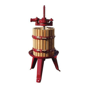 # 20 Fratelli Marchisio Wood Basket Wine Press Pre Order FEB-MAR - Ships APR to AUG Manual Wine Presses