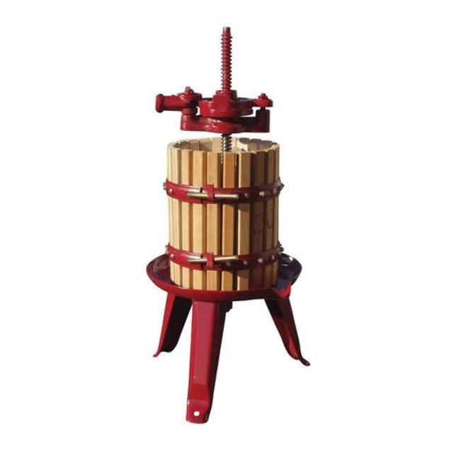 #30 Fratelli Marchisio Wood Basket Wine Press Pre Order FEB-MAR - Ships APR to AUG Manual Wine Presses