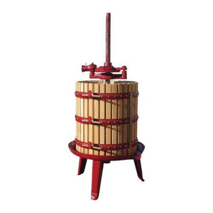 #35 Fratelli Marchisio Wood Basket Wine Press Pre Order FEB-MAR - Ships APR to AUG Manual Wine Presses