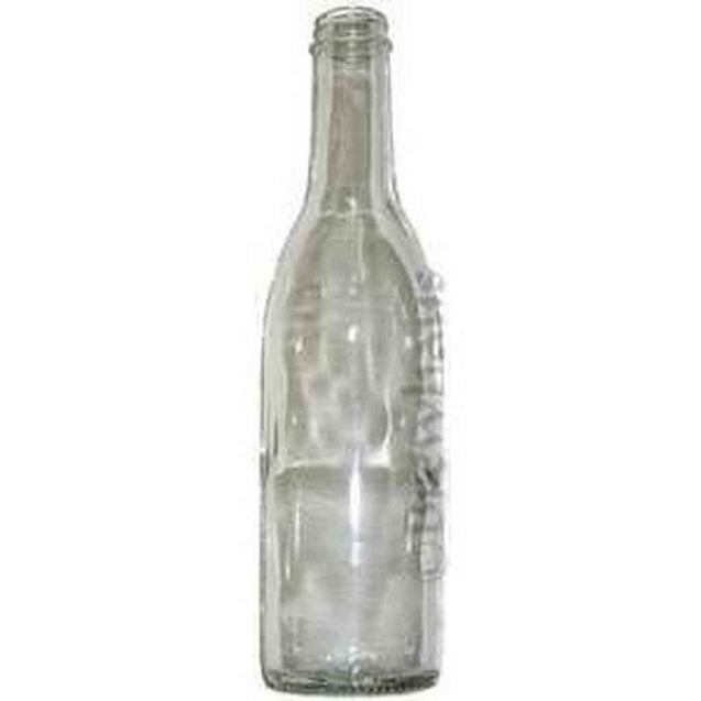 375Ml Liquor Bottle Clear 12/cs Bottles