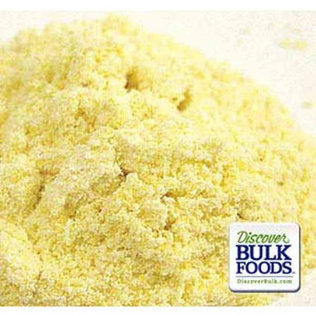 50Lb Yellow Corn Meal Whole Grain Dutch Valley