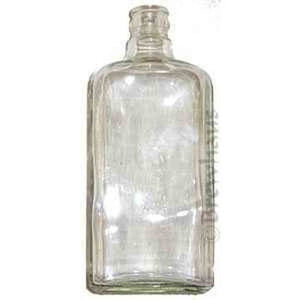 750Ml Square Gin Bottle Clear 12/cs Distilling Glass