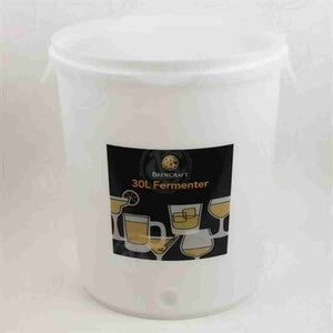 8 Gallon Brewcraft Fermenter (Lid Not Included) Fermenter Buckets