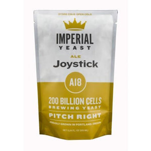 A18 Joystick Imperial Organic Liquid Yeast Imperial Organic Yeast