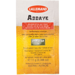 Abbaye Belgian Ale Yeast - Lallemand 11 Grams Dry Ale Yeast