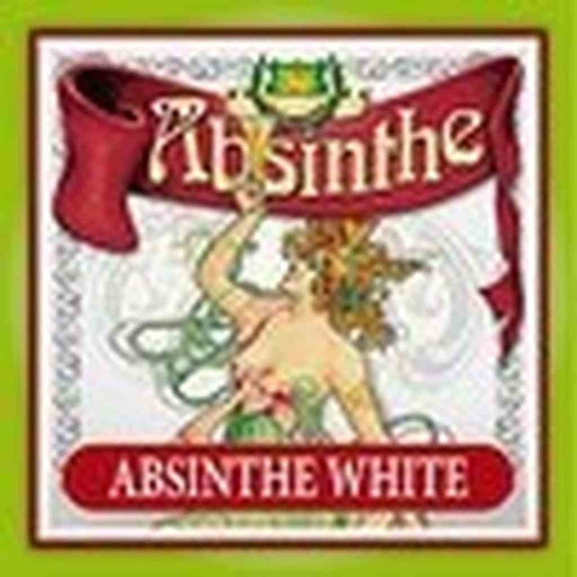 Absinthe Label- White N/a
