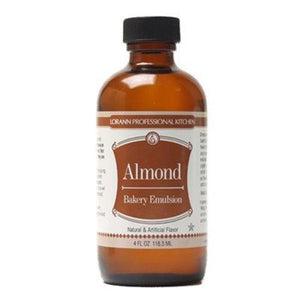 Almond Bakery Emulsion By Lorann Flavor Oils 4 Oz Spices And Flavorings
