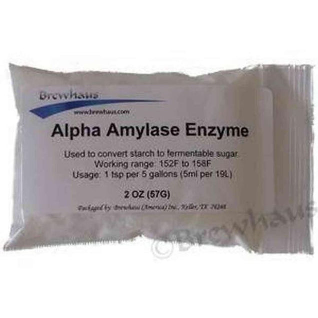Alpha Amylase Enzyme 2 Oz Distilling Additives