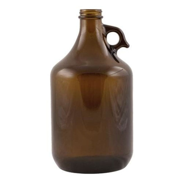 Amber Pistol Grip Growler 64 Oz 38 Mm Screwtop Qty 1 Growlers