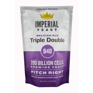 B48 Triple Double Imperial Organic Liquid Yeast Imperial Organic Yeast