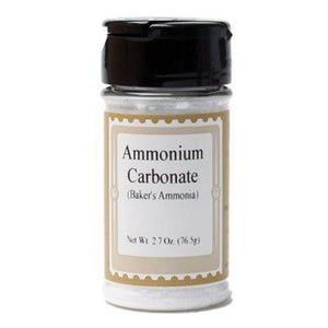Bakers Ammonia (Ammonium Carbonate) By Lorann Flavor Oils 2.7 Oz Spices And Flavorings