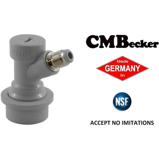 Ball Lock Gas Connector-1/4 In Mfl Threads Nsf Approved Kegging
