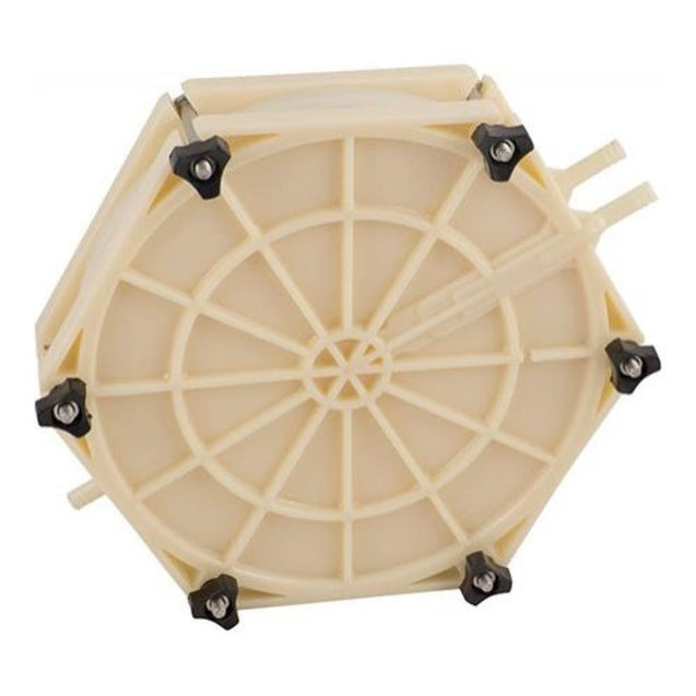 Beer/Wine Plate Filter Assembly for Round 8.75 in Filter Pads Kit Filters and Pads