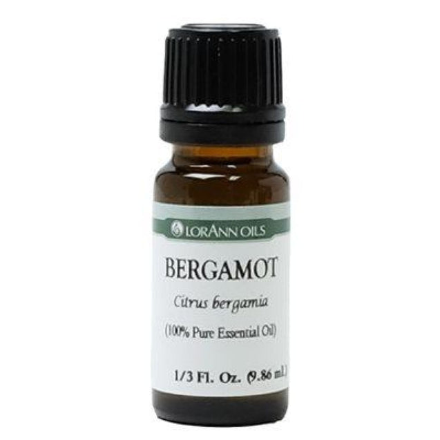Bergamot Oil Natural Flavor By Lorann Flavor Oils 0.33 Oz Spices And Flavorings