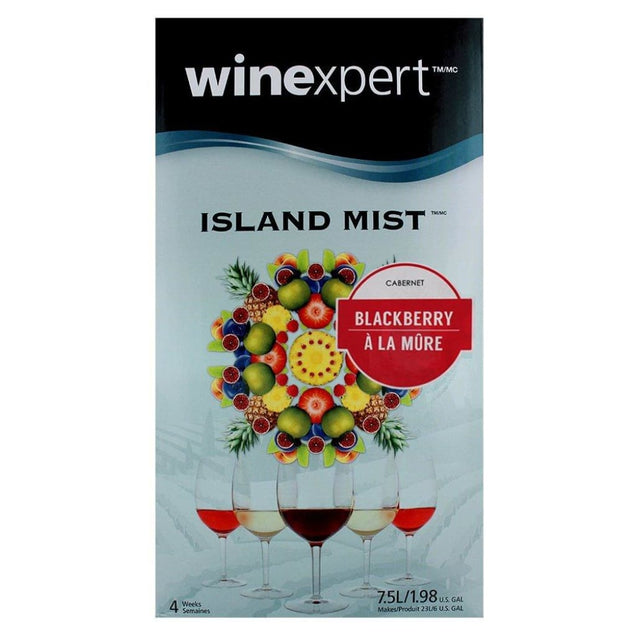 Blackberry Cabernet Island Mist Wine Kit (7.5L) Wine Ingredient Kits