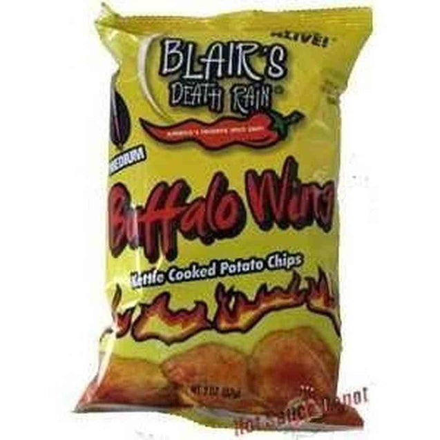 Blairs Death Buffalo Wing Chips 5Oz Hot Sauce