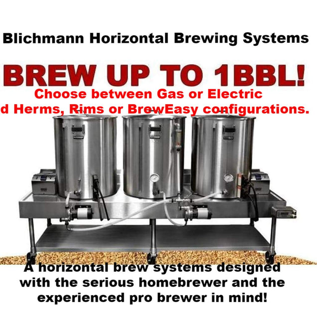 Blichmann Horizontal All Grain Brewing System All-Grain Equipment