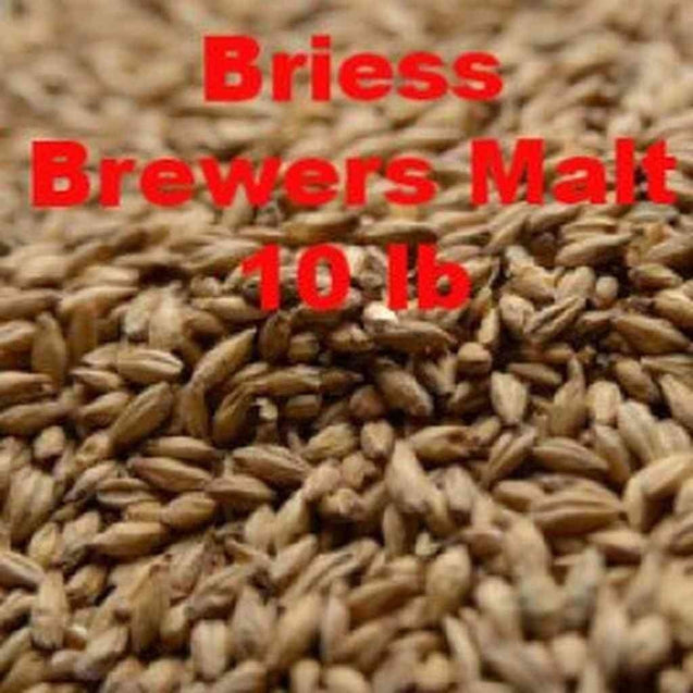 Briess 2 Row Brewers Malt 1.8L 10 Lb Grain