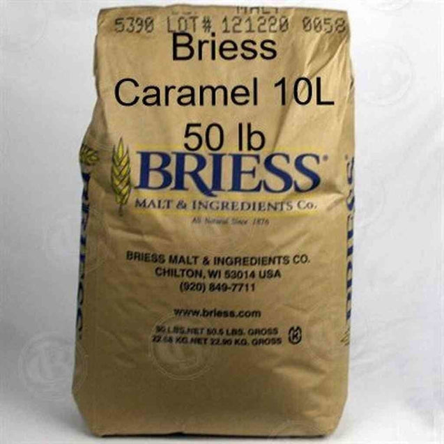 Briess Caramel 10L (Us) 50 Lb Bag Grain