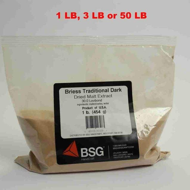 Briess Dme Traditional Dark 30 Lovibond Dried Malt Extract (Dme)