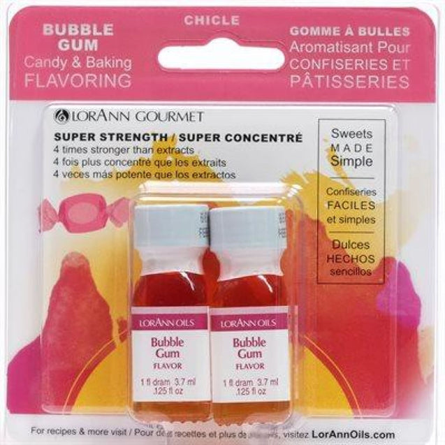 Bubble Gum Flavor By Lorann Flavor Oils Qty 2-1 Dram Spices And Flavorings
