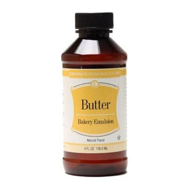 Butter (Natural) Bakery Emulsion By Lorann Flavor Oils 4 Oz Spices And Flavorings