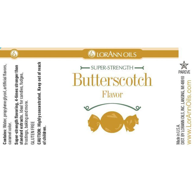 Butterscotch Flavor By Lorann Flavor Oils Spices And Flavorings