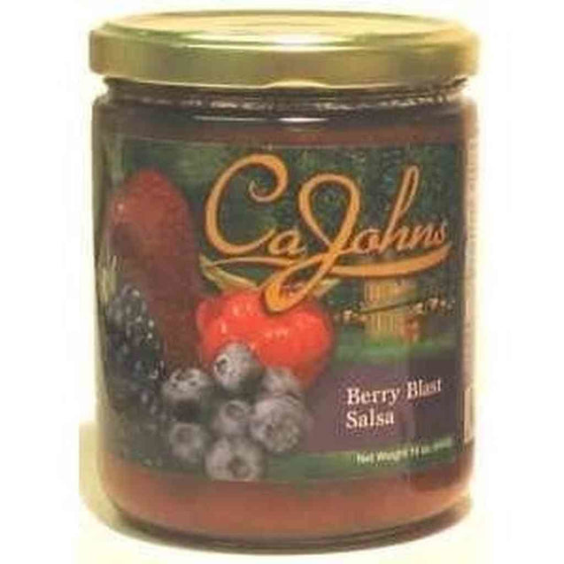 Cajohns Berry Blast Salsa 16Oz Hot Sauce