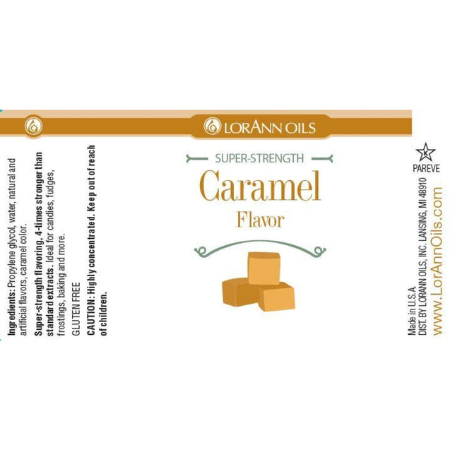 Caramel Flavor By Lorann Flavor Oils Spices And Flavorings