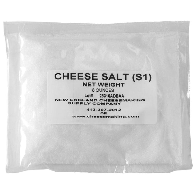 Cheese Salt-8Oz Bag Cheese Making