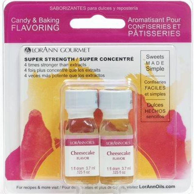 Cheesecake Flavor By Lorann Flavor Oils Qty 2-1 Dram Spices And Flavorings