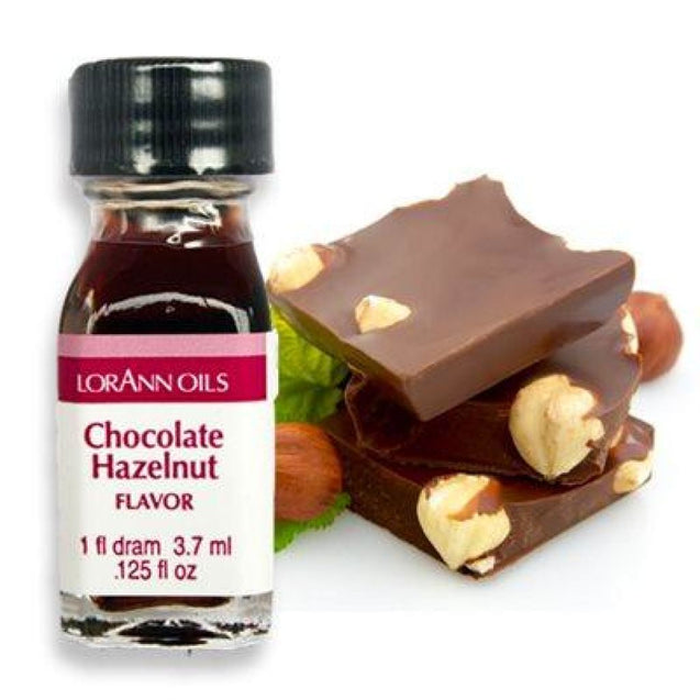 Chocolate Hazelnut Flavor By Lorann Flavor Oils 1 Dram Spices And Flavorings