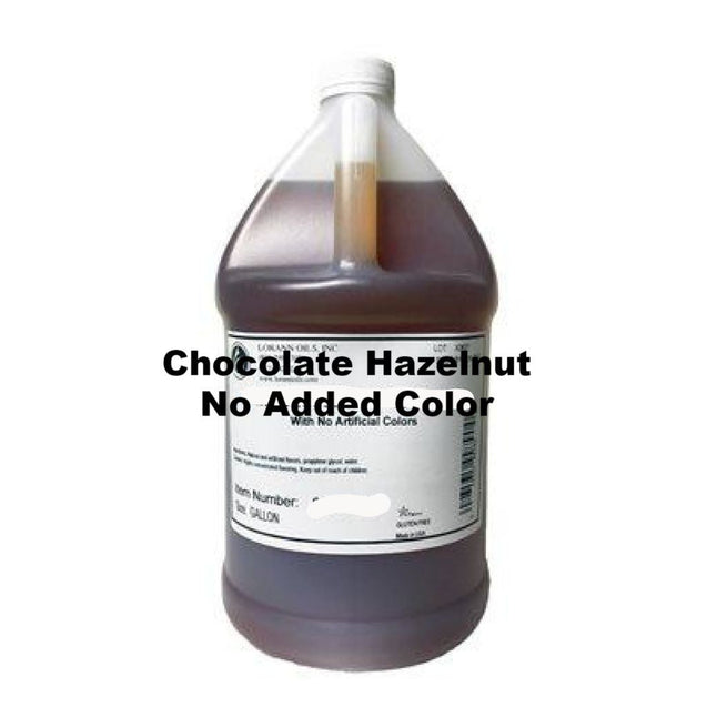 Chocolate Hazelnut No Added Color Flavor By Lorann Oils 1 Gallon Spices And Flavorings