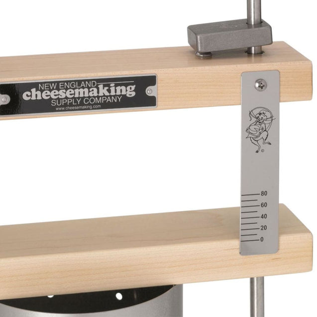 Complete Deluxe Cheese Press With Stainless Steel Cheese Mold And Followers Cheese Making