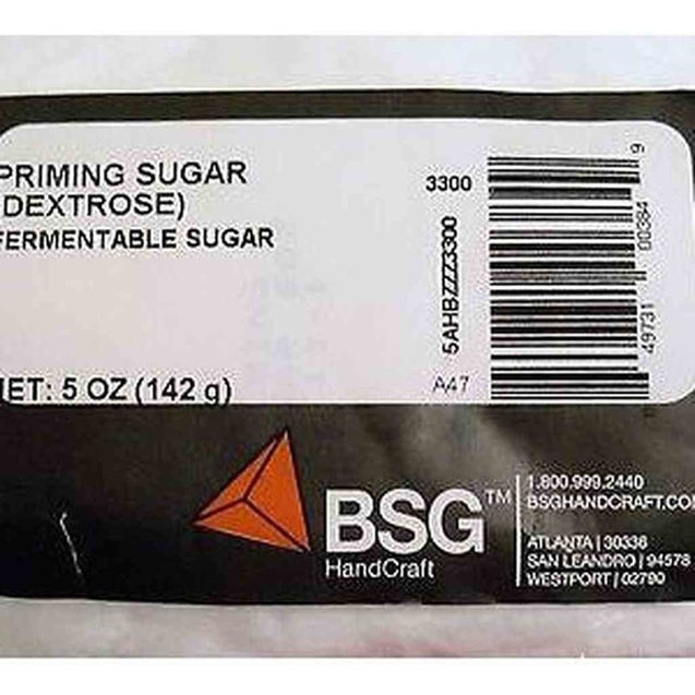 Corn Sugar Dextrose Priming Sugar 5 Oz Priming Sugar Corn Sugar (Dextros)
