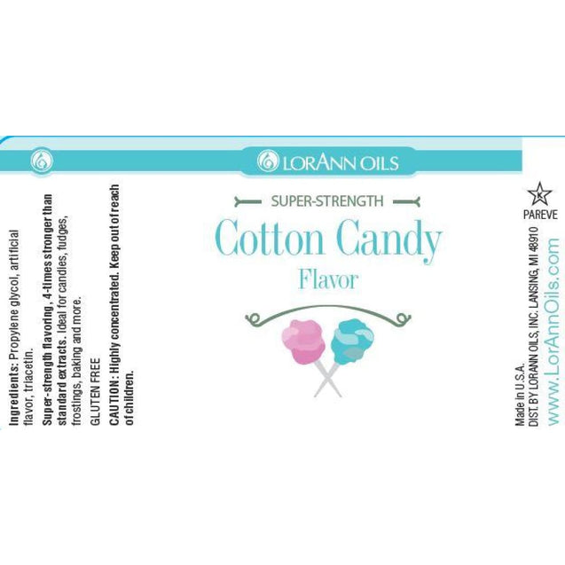 Cotton Candy Flavor By Lorann Flavor Oils Spices And Flavorings