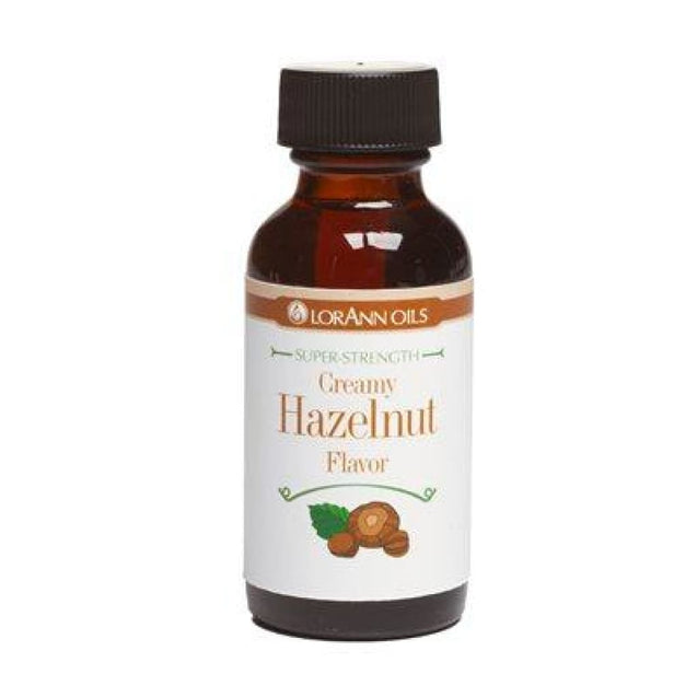 Creamy Hazelnut Flavor By Lorann Flavor Oils 1 Oz Spices And Flavorings