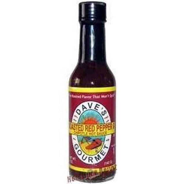 Daves Roasted Pepper Hot Sauce 5Oz Hot Sauce