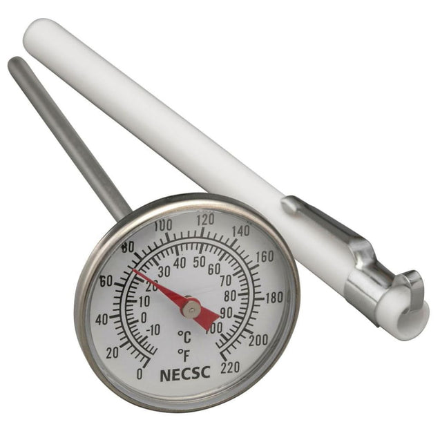 Dial Pocket Thermometer-5 Inch Stem 1.5 Inch Dial 0-220F (-20-100C) Thermometers