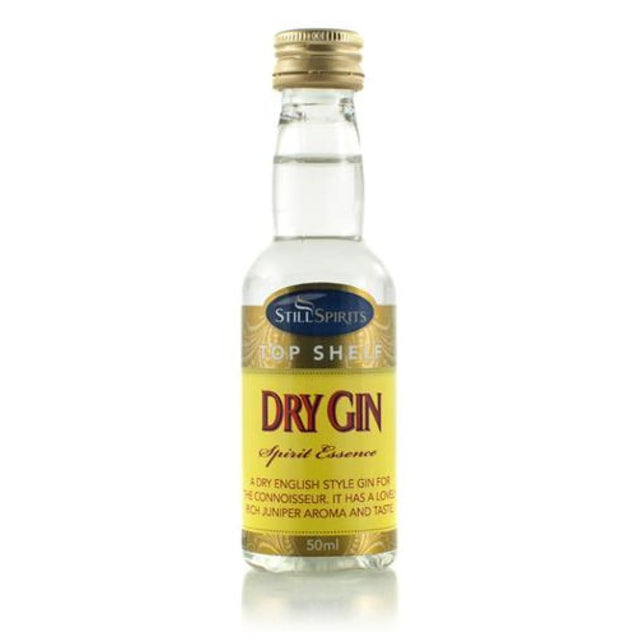 Dry Gin Still Spirits Top Shelf Essence Essence Enhancers