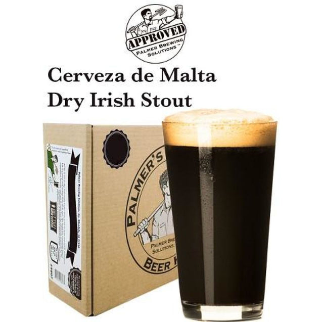 Dry Irish Stout Palmer Premium Beer Kit - Cerveza De Malta Seca Beer Ingredient Kits