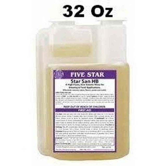 Five Star Star San 32 Oz Bottle Star San