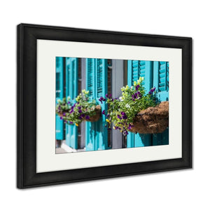 Framed Print New Orleans Flowers Framed Print