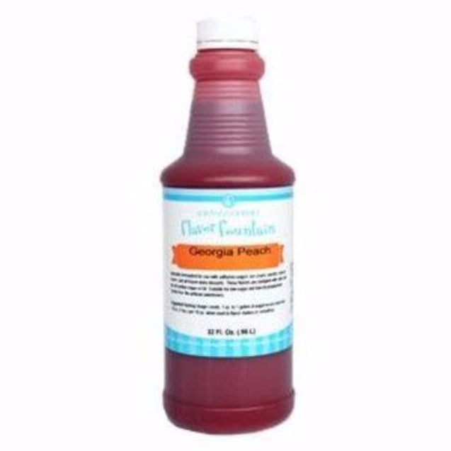 Georgia Peach By Lorann Flavor Fountain 1 Quart Spices And Flavorings