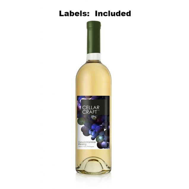 Gewurztraminer-Riesling Washington State Cellar Craft Showcase Collection Wine Kit 16L Wine Ingredient Kits