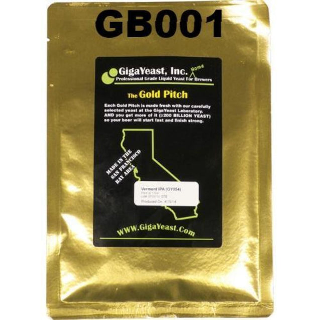 Gigayeast Gb001 Double Pitch - Brussels Bruxellensis Liquid Yeast Gigayeast