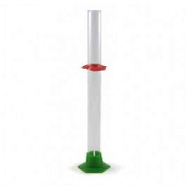 Glass Hydrometer Test Jar With Bumpers Test Jars
