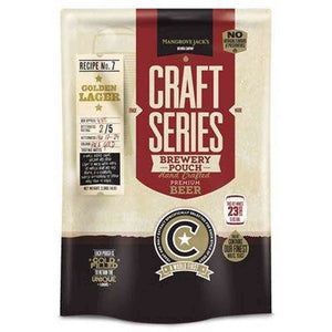 Golden Lager Brewery Pouch Mj Craft Series Beer Ingredient Kits