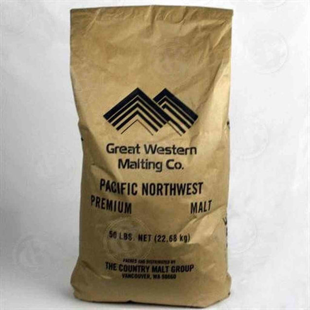 Great Western White Wheat Malt 50 Lb Bag Grain